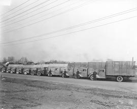 Crawford Cartage trucks