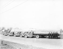 Goodale Transport Limited trucks and drivers
